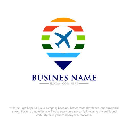 map travel logo designs Logo