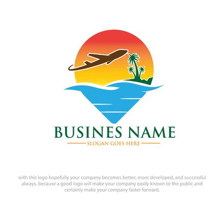 summer travel logo designs