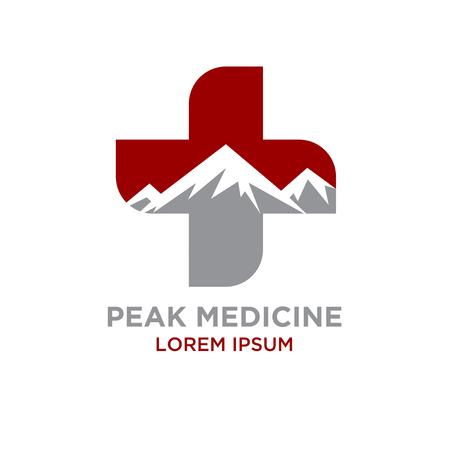 peak medicine logo designs
