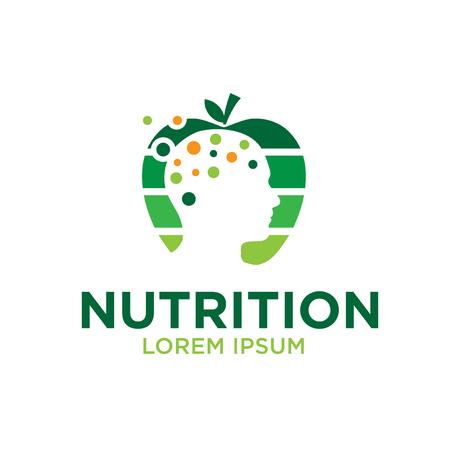 mind nutrition logo designs 矢量图像