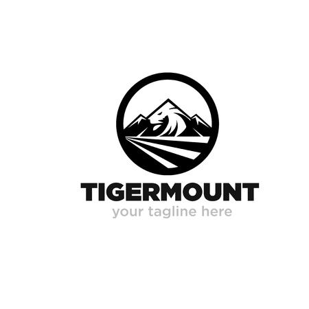 tiger mount logo designs