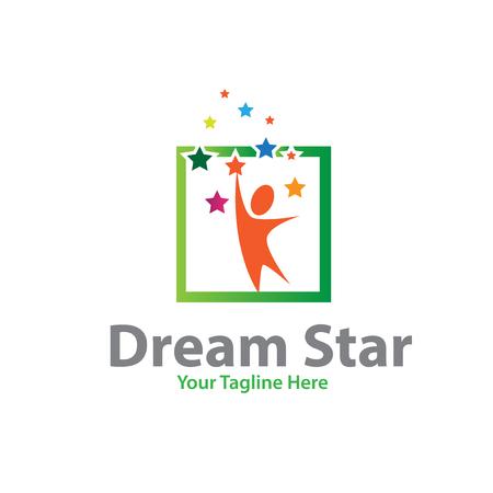 Traumstern-Logo-Designs Logo