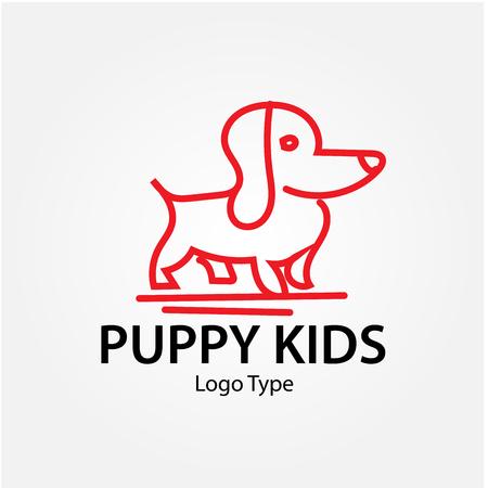 puppy logo designs Logó