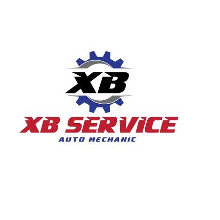 x b service protection logo designs Illustration