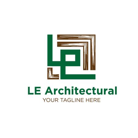 wood flour logo designs Illustration
