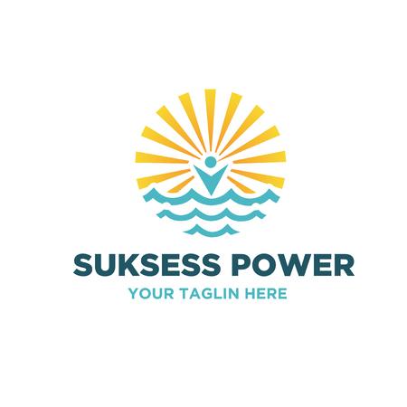 surya power logo designs