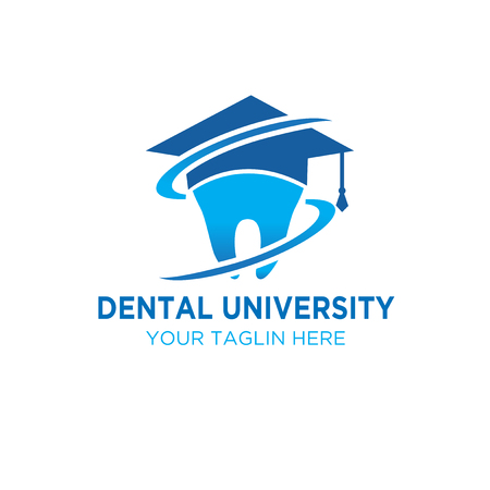 dental university logo designs