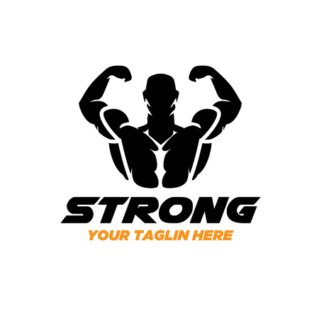 strong fitness logo designs