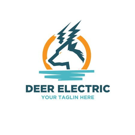 energy sources electric logo designs