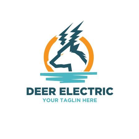 energy sources electric logo designs