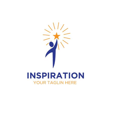 inspirations star logo designs Illustration