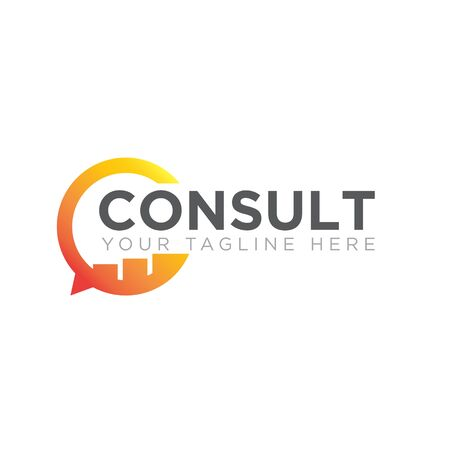 business consult logo designs icon modern