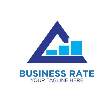 triangle business up logo designs