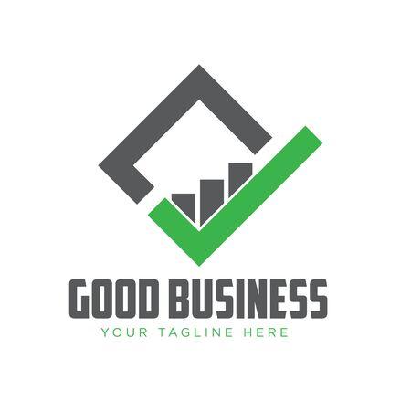 business grow start logo designs