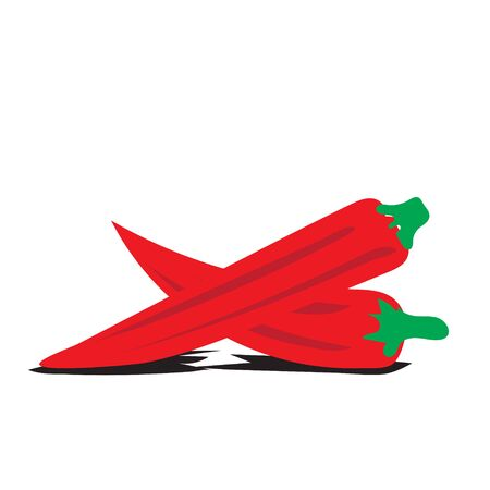 fresh chili vegetables logo designs icons