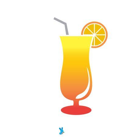 Fresh fruit juice drinks logo designs