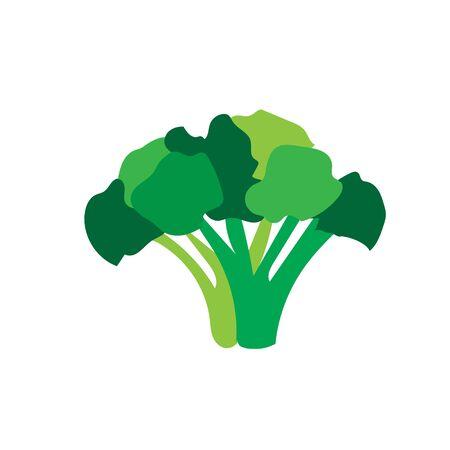 fresh green vegetables logo designs icons