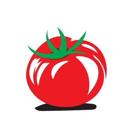 fresh tomato vegetables logo designs icons