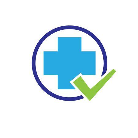 cross medicine check health  designs Illustration