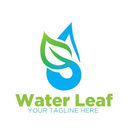 water leaf  designs modern Illustration