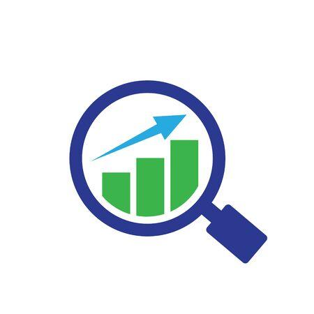 business find  designs growth Illustration