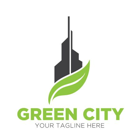 green city  designs eco  イラスト・ベクター素材