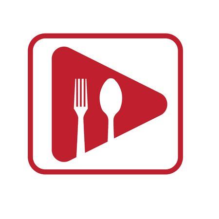 food restaurant video  designs Stock Vector - 133140750