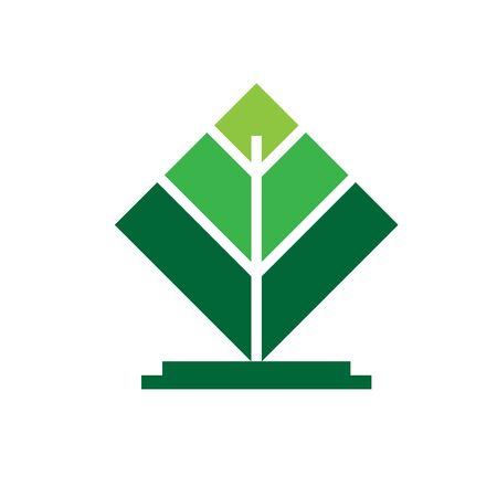 tree simple modern green  designs