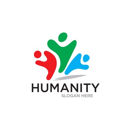 humanity save care logo designs