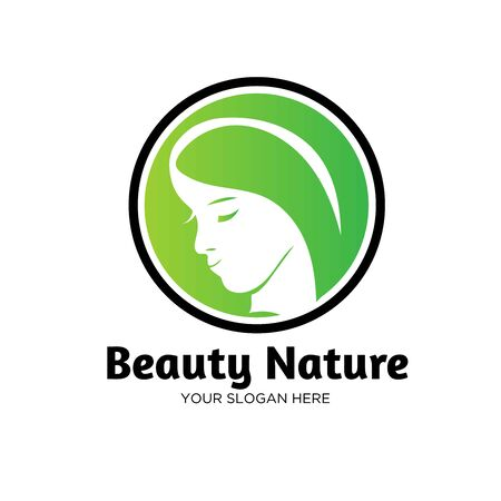 beauty leaf nature logo designs