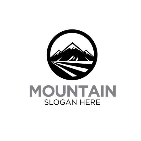 mountain logo designs modern and simple icon business