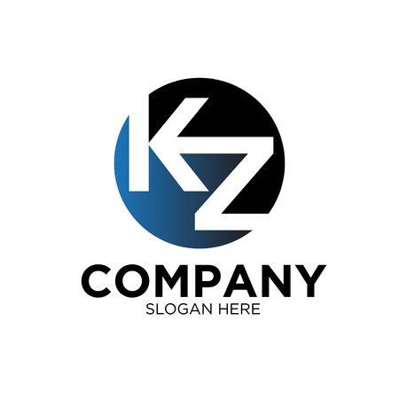 K Z BUSINESS company logo designs