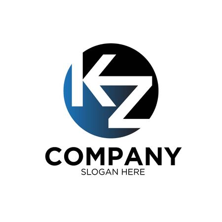 K Z BUSINESS company logo designs