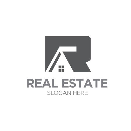 r home real estate logo designs
