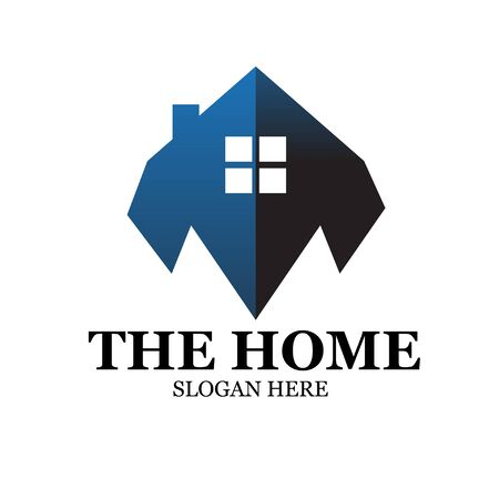 home real estate logo designs modern simple