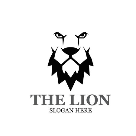 the lion king logo designs modern simple