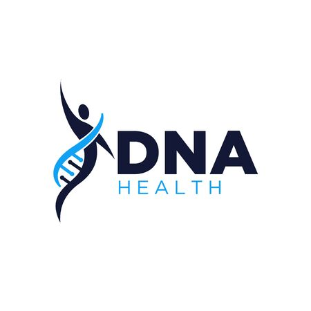 gen health life logo designs simple modern Illustration