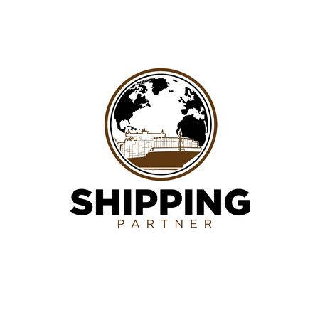 freight forwarding services throughout the world Vectores