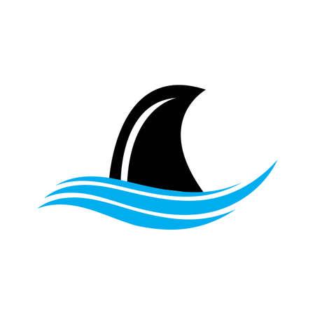 Shark Logo Template Vector design  illustration template