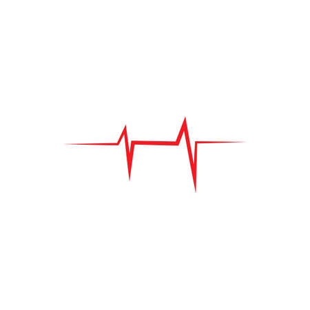 heart rate icon vector design ilustration