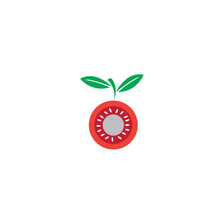tomatto vector ilustration design templat Ilustração