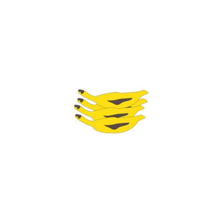 Banana logo vector template DESIGN