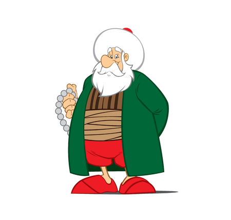 Nasreddin Hodja character vector