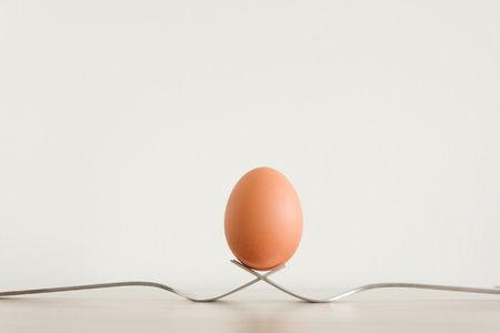 embolism: egg for healthy on breakfast in the morning Stock Photo