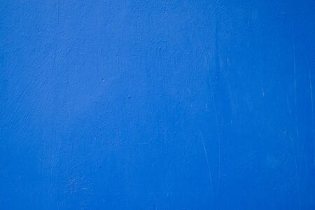 Blue cement or concrete wall texture for background