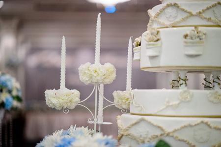 Hochzeitstorte Standard-Bild - 80430492