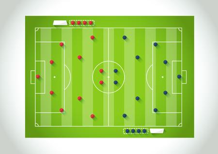 시뮬레이션: Soccer simulation game plan