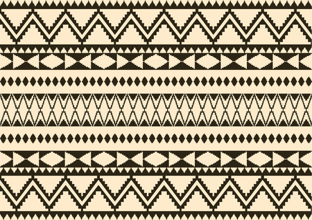 seta thailandese: seta crema panno pattern, vettore Vettoriali