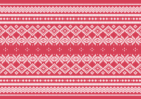seta thailandese: panno di seta rosa pattern, vettore