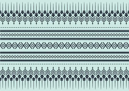 seidenstoff: Seidentuch gr�n Muster, Vektor-Illustration Illustration